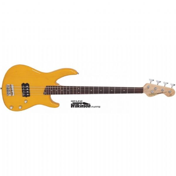 Vintage Bass Guitar V80AB Golden Amber – 4 string